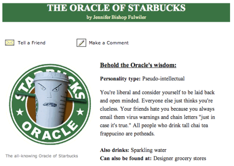 The Oracle of Starbucks