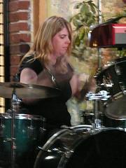drumming at Kavarna