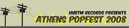 Athens PopFest logo